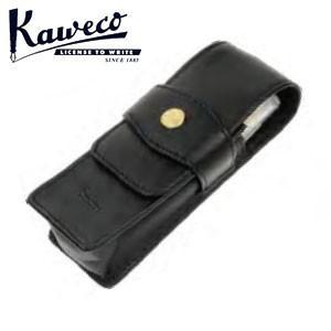 カヴェコ ACスポーツ レッド ボールペン&万年筆 革ケース付きセット KAWECO-ACFPBP-RDSET|nomado1230