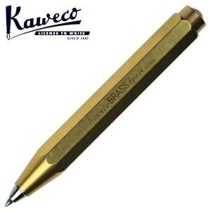 カヴェコ ボールペン 名入れ カヴェコ ブラス スポーツ ボールペン BRBP-BR|nomado1230