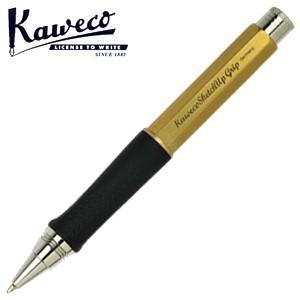 カヴェコ ボールペン 名入れ カヴェコ スケッチ アップ グリップ ボールペン ブラスRAW GRBPBR|nomado1230