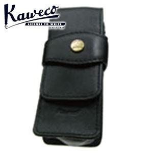 カヴェコ ペンケース カヴェコ スポーツ ショートタイプ 本革製ペンケース 2本用 ブラック CASES-2|nomado1230