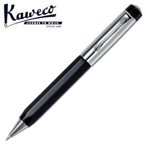 カヴェコ ボールペン 名入れ カヴェコ エリート ブラック&クローム ボールペン ELBP-BC|nomado1230