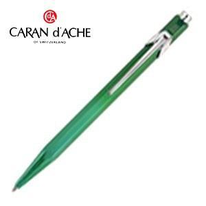 カランダッシュ 849コレクション 限定品 メタルXシリーズ 青芯 ボールペン メタリックグリーン 0849-212|nomado1230