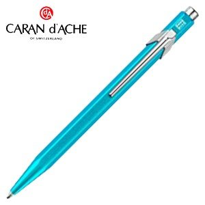 高級 ボールペン カランダッシュ 849 POPLINE ポップライン メタルX ボールペン ターコイズ NF0849-671|nomado1230