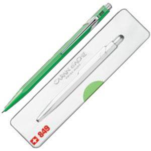 高級 ボールペン 名入れ カランダッシュ 849 POPLINE ポップライン ボールペン 蛍光グリーン NF0849-730|nomado1230