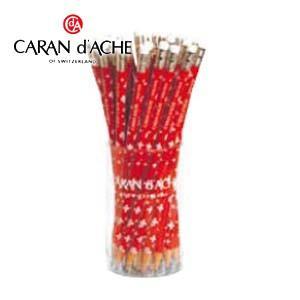 鉛筆 カランダッシュ スイス フラッグ 消しゴム付き鉛筆36本セット 鉛筆 No. 34211236|nomado1230