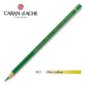 色鉛筆 油性 カランダッシュ アーティストライン パブロ 油性色鉛筆 単色 オリーブイエロー 3個セット 0666-015|nomado1230