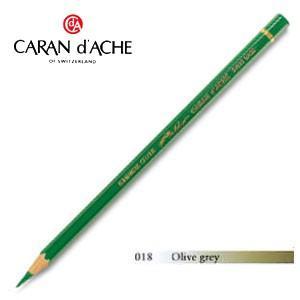 色鉛筆 油性 カランダッシュ アーティストライン パブロ 油性色鉛筆 単色 オリーブグレイ 3個セット 0666-018|nomado1230