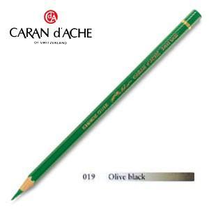 色鉛筆 油性 カランダッシュ アーティストライン パブロ 油性色鉛筆 単色 オリーブブラック 3個セット 0666-019|nomado1230