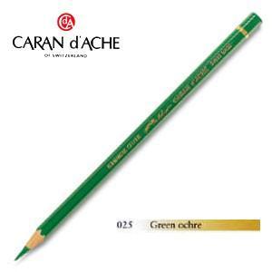 色鉛筆 油性 カランダッシュ アーティストライン パブロ 油性色鉛筆 単色 グリーンオーカー 12個セット 0666-025|nomado1230