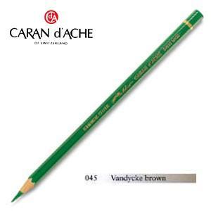 色鉛筆 油性 カランダッシュ アーティストライン パブロ 油性色鉛筆 単色 vandycke brown 3個セット 0666-045 nomado1230