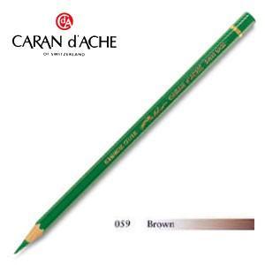 色鉛筆 油性 カランダッシュ アーティストライン パブロ 油性色鉛筆 単色 ブラウン 3個セット 0666-059 nomado1230