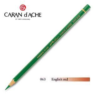 色鉛筆 油性 カランダッシュ アーティストライン パブロ 油性色鉛筆 単色 イギリスレッド 3個セット 0666-063 nomado1230