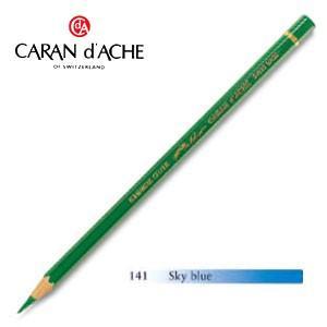 色鉛筆 油性 カランダッシュ アーティストライン パブロ 油性色鉛筆 単色 スカイブルー 3個セット 0666-141 nomado1230