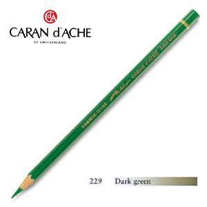 色鉛筆 油性 カランダッシュ アーティストライン パブロ 油性色鉛筆 単色 ダークグリーン 3個セット 0666-229|nomado1230