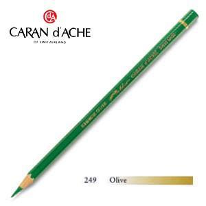 色鉛筆 油性 カランダッシュ アーティストライン パブロ 油性色鉛筆 単色 オリーブ 3個セット 0666-249|nomado1230