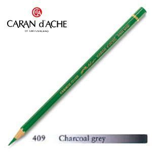 色鉛筆 油性 カランダッシュ アーティストライン パブロ 油性色鉛筆 単色 チャコールグレイ 3個セット 0666-409 nomado1230