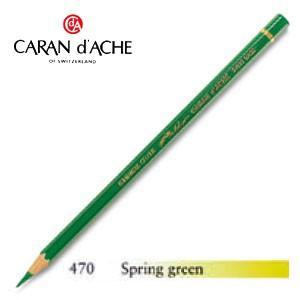 色鉛筆 油性 カランダッシュ アーティストライン パブロ 油性色鉛筆 単色 スプリンググリーン 3個セット 0666-470 nomado1230
