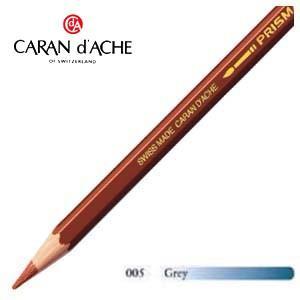色鉛筆 水彩 カランダッシュ アーティストライン プリズマロ 水溶性色鉛筆 単色 グレイ 12個セット 0999-005 nomado1230