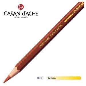 色鉛筆 水彩 カランダッシュ アーティストライン プリズマロ 水溶性色鉛筆 単色 イエロー 12個セット 0999-010 nomado1230