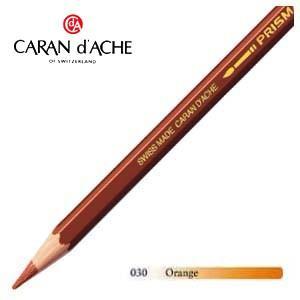 色鉛筆 水彩 カランダッシュ アーティストライン プリズマロ 水溶性色鉛筆 単色 オレンジ 12個セット 0999-030 nomado1230