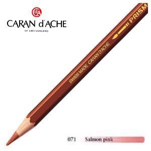 色鉛筆 水彩 カランダッシュ アーティストライン プリズマロ 水溶性色鉛筆 単色 サーモンピンク 3個セット 0999-071|nomado1230