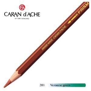 色鉛筆 水彩 カランダッシュ アーティストライン プリズマロ 水溶性色鉛筆 単色 veronese green 3個セット 0999-201|nomado1230