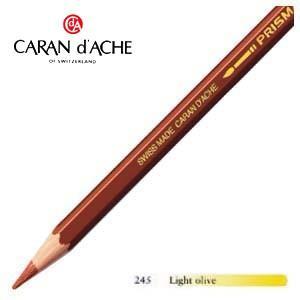 色鉛筆 水彩 カランダッシュ アーティストライン プリズマロ 水溶性色鉛筆 単色 ライトオリーブ 12個セット 0999-245 nomado1230