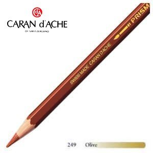 色鉛筆 水彩 カランダッシュ アーティストライン プリズマロ 水溶性色鉛筆 単色 オリーブ 12個セット 0999-249 nomado1230
