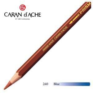 色鉛筆 水彩 カランダッシュ アーティストライン プリズマロ 水溶性色鉛筆 単色 ブルー 3個セット 0999-260|nomado1230