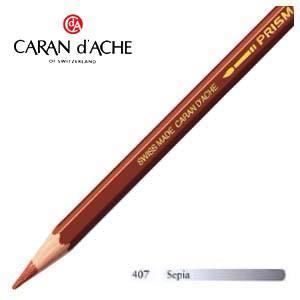 色鉛筆 水彩 カランダッシュ アーティストライン プリズマロ 水溶性色鉛筆 単色 セピア 3個セット 0999-407|nomado1230