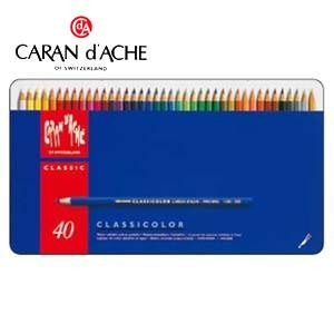 色鉛筆 水彩 カランダッシュ クラシックライン クラシカラー 40色 水溶性色鉛筆 No. 1280840|nomado1230