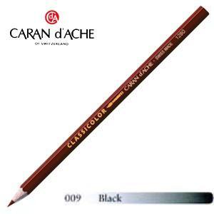 色鉛筆 水彩 カランダッシュ クラシックライン クラシカラー 水溶性色鉛筆 単色 ブラック 12個セット 1281-009|nomado1230