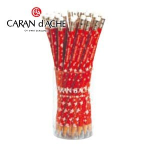 鉛筆 カランダッシュ スイスフラッグシリーズ スイスフラッグ ゴブレット付 鉛筆36本 342-112|nomado1230
