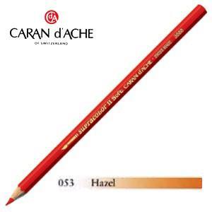 色鉛筆 水彩 カランダッシュ アーティストライン スプラカラーソフト 水溶性色鉛筆 単色 hazel 3個セット 3888-053|nomado1230