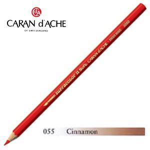 色鉛筆 水彩 カランダッシュ アーティストライン スプラカラーソフト 水溶性色鉛筆 単色 シナモン 3個セット 3888-055|nomado1230