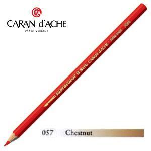 色鉛筆 水彩 カランダッシュ アーティストライン スプラカラーソフト 水溶性色鉛筆 単色 chestnut 3個セット 3888-057|nomado1230