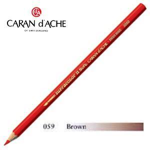 色鉛筆 水彩 カランダッシュ アーティストライン スプラカラーソフト 水溶性色鉛筆 単色 ブラウン 3個セット 3888-059|nomado1230