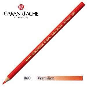 色鉛筆 水彩 カランダッシュ アーティストライン スプラカラーソフト 水溶性色鉛筆 単色 バーミリオン 12個セット 3888-060|nomado1230