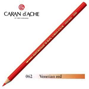 色鉛筆 水彩 カランダッシュ アーティストライン スプラカラーソフト 水溶性色鉛筆 単色 ベネチアンレッド 3個セット 3888-062|nomado1230