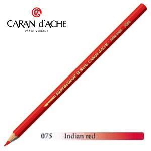 色鉛筆 水彩 カランダッシュ アーティストライン スプラカラーソフト 水溶性色鉛筆 単色 インディアンレッド 3個セット 3888-075|nomado1230