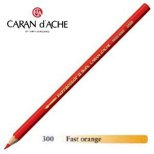 色鉛筆 水彩 カランダッシュ アーティストライン スプラカラーソフト 水溶性色鉛筆 単色 ファーストオレンジ 3個セット 3888-300|nomado1230