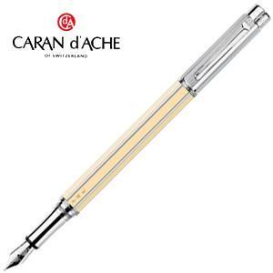 カランダッシュ バリアス 特別素材使用 チャイナアイボリー 万年筆 シルバー 4490-084|nomado1230