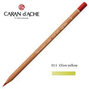 色鉛筆 油性 カランダッシュ プロフェッショナルライン ルミナンス 油性色鉛筆 単色 オリーブイエロー 6個セット 6901-015 nomado1230