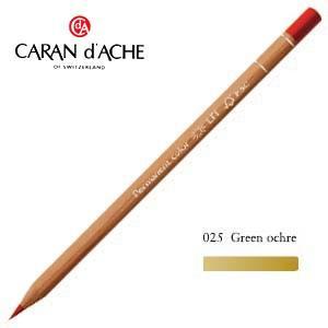 色鉛筆 油性 カランダッシュ プロフェッショナルライン ルミナンス 油性色鉛筆 単色 グリーンオーカー 6個セット 6901-025 nomado1230