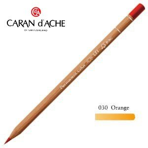 色鉛筆 油性 カランダッシュ プロフェッショナルライン ルミナンス 油性色鉛筆 単色 オレンジ 6個セット 6901-030 nomado1230