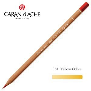 色鉛筆 油性 カランダッシュ プロフェッショナルライン ルミナンス 油性色鉛筆 単色 イエローオーカー 6個セット 6901-034 nomado1230
