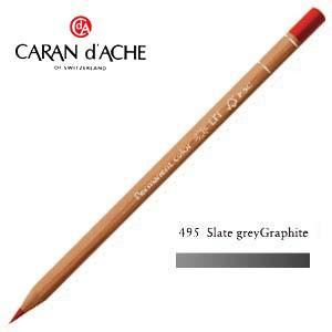 色鉛筆 油性 カランダッシュ プロフェッショナルライン ルミナンス 油性色鉛筆 単色 スレートグレイ 6個セット 6901-495 nomado1230