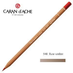 色鉛筆 油性 カランダッシュ プロフェッショナルライン ルミナンス 油性色鉛筆 単色 ローアンバー 6個セット 6901-548 nomado1230