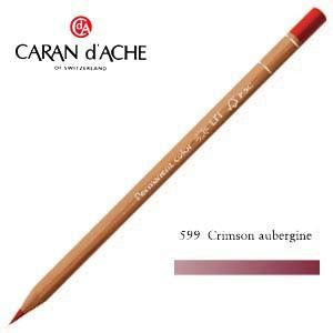 色鉛筆 油性 カランダッシュ プロフェッショナルライン ルミナンス 油性色鉛筆 単色 クリムソンオーバージン 6個セット 6901-599 nomado1230