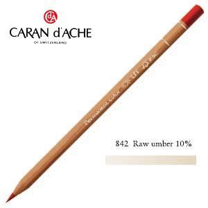色鉛筆 油性 カランダッシュ プロフェッショナルライン ルミナンス 油性色鉛筆 単色 ローアンバー 10パーセント 6個セット 6901-842 nomado1230